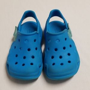 Kids Swiftwater crocs size 9